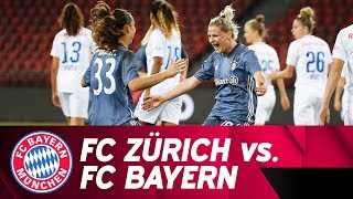 FC Zürich vs. FC Bayern 0-2 | UEFA Women's Champions League 2018/19 - Round of 16 | ReLive