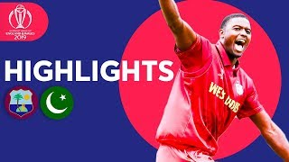 Pakistan Bounced Out For 105 | Windies vs Pakistan - Match Highlights | ICC Cricket World Cup 2019