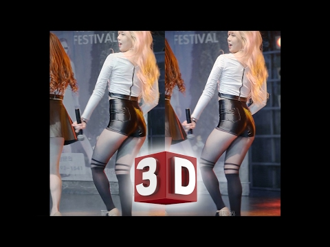3D직캠 Fancam(Cardboard 카드보드 & Cross-eyed 매직아이) 판타스티 현지(씨스타 Shake it) Fantastie, Hyunji by Thistress