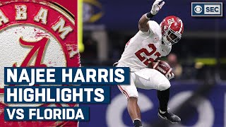 Najee Harris Highlights vs. Florida Gators: 2020 SEC Championship | CBS Sports HQ