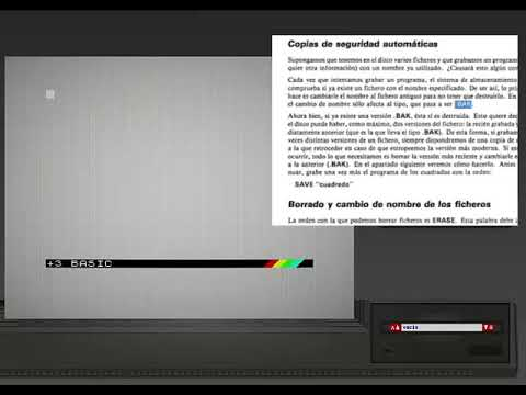 SPECTRUM+3  - | Programas Manual Usuario 3/4 | - 1987. Amstrad Plc