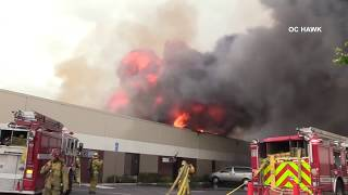 3rd Alarm Commercial fire in Anaheim