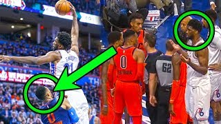 What You DON'T Know About The Westbrook & Embiid NBA Rivalry (Ft. Fouls, Stares, & Waves)
