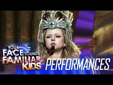 Your Face Sounds Familiar Kids Finale: Xia Vigor as Madonna - Vogue
