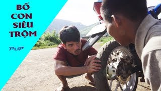 Bố Con Siêu Trộm Hài Nhất làng|  Cười Đau Bụng