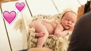 CUTE BABY'S FiRST EVER PHOTOSHOOT!! 👶