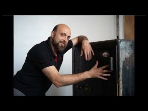Opening an Old Safe