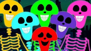 Skeleton March Scary Nursery Rhymes Haunted House Videos For Kids