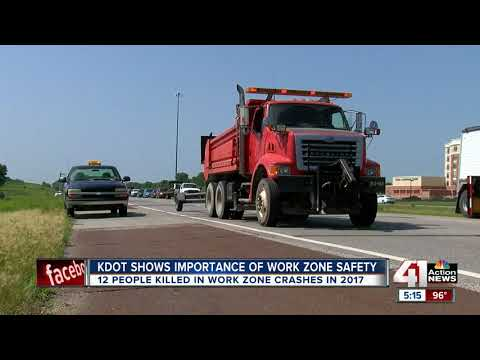 Slow down, move over for construction crews