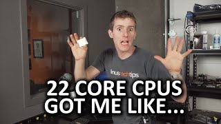 Two 22 Core Xeon CPUs!? - HOLY $H!T Episode 6