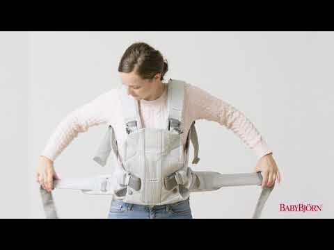BABYBJÖRN - How to buckle and adjust the waist belt on Baby Carrier One