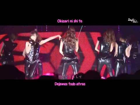 SNSD - The great escape [LIVE] [Sub español + Kanji + Roman]