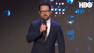 J.J. Abrams Auctions Off Star Wars Plot | Night Of Too Many Stars | HBO