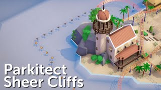 Parkitect Campaign (Part 24) - Sheer Cliffs - Beach Boulevard