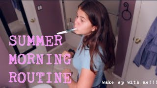 SUMMER MORNING ROUTINE | Diana