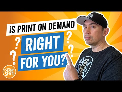 Is Print On Demand Right For You? Should You Start? 6 Questions to Ask Yourself Before You Begin.