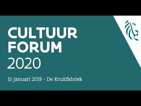Cultuurforum 2020