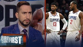 Kawhi & Paul George aren't even the best duo in Los Angeles right now | NBA | FIRST THINGS FIRST