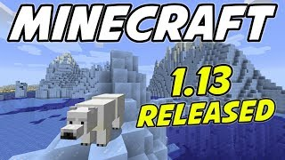 Minecraft 1.13 AMAZING SEED! Icebergs, Shipwreck, Ruins and Buried Treasure!!