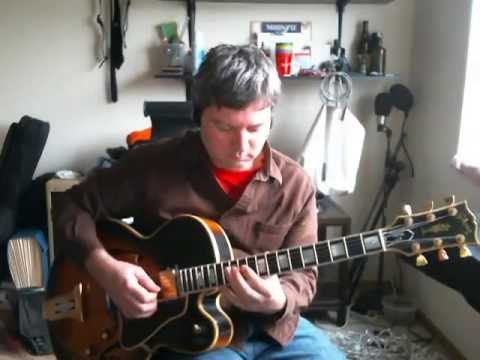 "The classic standard ""Just Friends"" with chord melody approach."