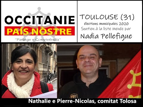 Élections municipales 2020 : soutien d'OCCITANIE PAÍS NÒSTRE à la liste menée par NADIA PELLEFIGUE