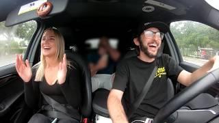 Uber Driver raps Rap God!