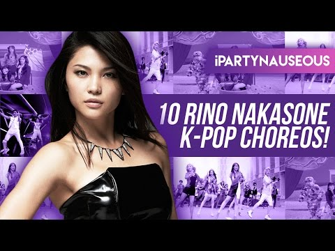 10 K-pop Choreos by Rino Nakasone!