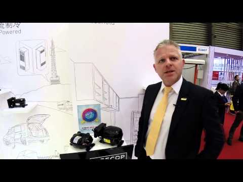 Interview 2 with Mogens Søholm CEO of Secop at China Refrigeration 2015