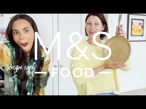 marksandspencer.com & Marks and Spencer Discount Code video: Emma Willis makes Cooking with the Stars Carbonara with a special guest!   M&S FOOD