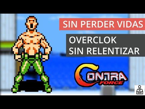 CONTRA FORCE - Nintendo NES - Sin relentizaciones y sin perder vidas - 60fps
