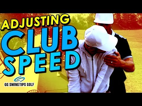 Adjusting Club Speed During Your Golf Swing