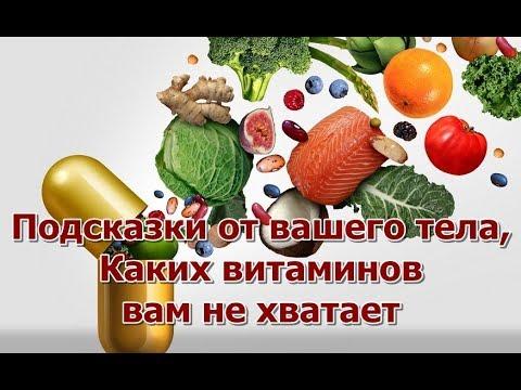 Подсказки от вашего тела, Каких витаминов вам не хватает photo