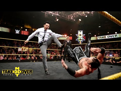 Baixar NXT General Manager William Regal introduces Hideo Itami: NXT TakeOver: Fatal 4-Way, Sept. 11, 2014