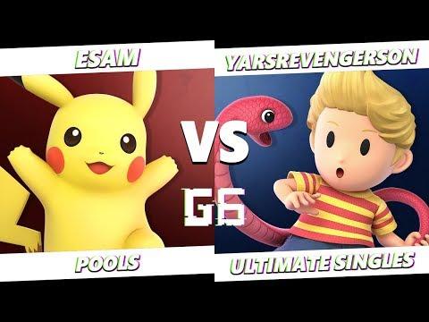 PG | ESAM (Pikachu) VS YarsRevengerson (Lucas) Smash