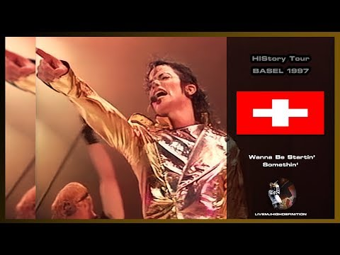 Michael Jackson Live In Basel 1997: Wanna Be Startin' Somethin' - HIStory Tour