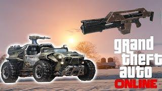 GTA 5 Online : Military Dune Buggy, Pulse Rifle, Rare Animals - DLC Wishlist Patch 1.12