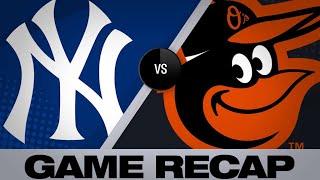 4/7/19: Yankees belt 7 homers in win vs. Orioles
