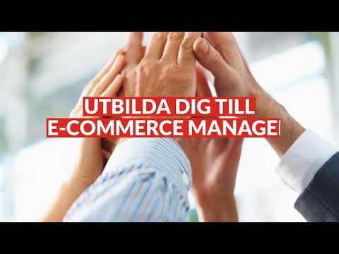 E Commerce Manager - ett framtidsyrke