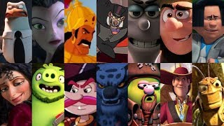 Defeats of My Favorite Animated Movie Villains Part 1 (Re