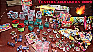 Testing New And Different types of Crackers | Crackers Testing | Diwali 2019