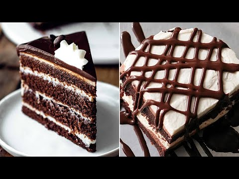 Perfect And Easy Chocolate Cake Decorating Ideas | Best Chocolate Cake Recipes