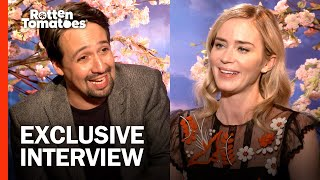 The 'Mary Poppins Returns' Cast Watched Bizarre Christmas Movies Growing Up | Rotten Tomatoes