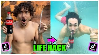 We TESTED Viral TikTok Life Hacks... (and this is what happened) *PART 24*