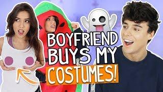 Boyfriend Buys My Halloween Costumes! Shopping Challenge 2017!