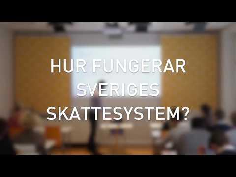 Hur fungerar Sveriges skattesystem? (Del 1/5)