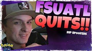 FSUATL QUITS POKEMON GO!!  RIP SPOOFERS?!