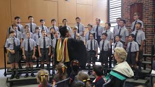 Copeland Choir perform Waltzing Matilda