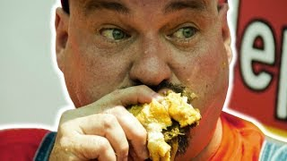 BIGGEST CHEATER IN COMPETITIVE EATING!
