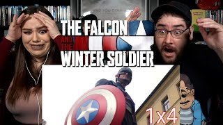 The Falcon and The Winter Soldier THE WHOLE WORLD IS WATCHING - Episode 4 Reaction / Review
