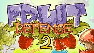 fruit defense 2 walkthrough, guide and cheats